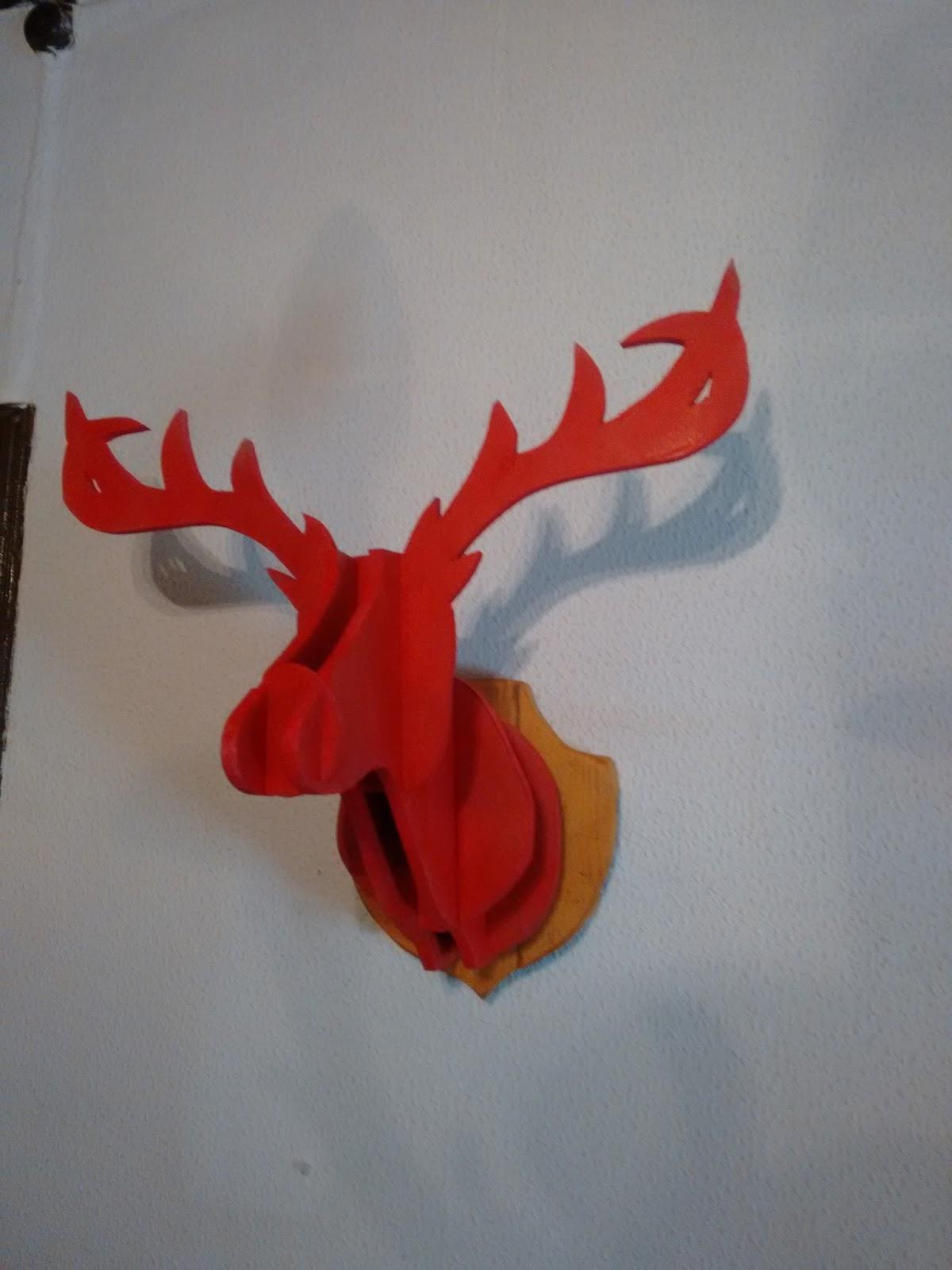 Cabeza de ciervo - Cabeza de ciervo decoracion ...
