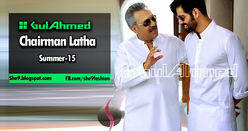 Gul Ahmed Men Cotton Latha Collection