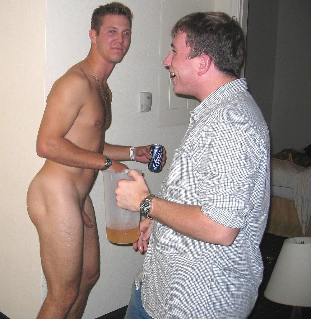 Two Amateur British Men In The Bedroom Fooling Around