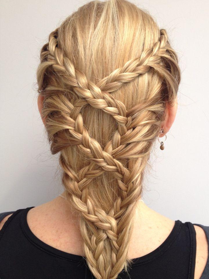 La moda en tu cabello: Peinados con trenzas - Primavera