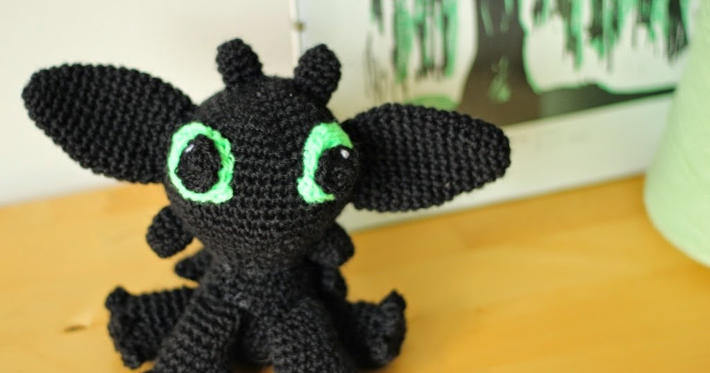 Free Crochet Pattern For Toothless The Dragon : floral and feather: Crochet Toothless from How to train ...