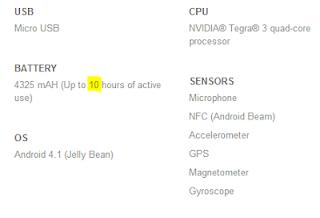 Aumento batería Android 4.2.2, duración batería Android 4.2.2