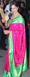 Sameera Reddy at Director Rohit Shetty's sister's wedding
