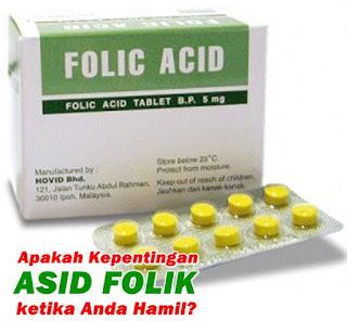 asid folik penting untuk bayi dalam kandungan
