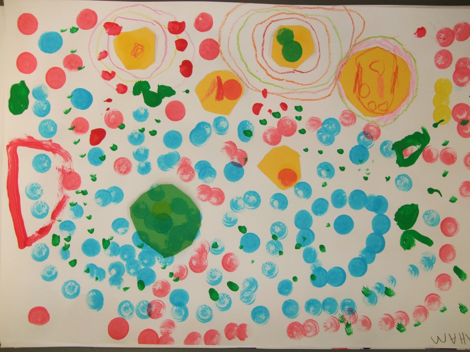 Mrs Doherty\'s Art Room: Kindergarten Circle practice