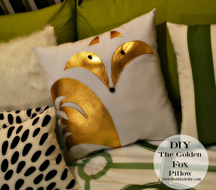 Who says Fo can't be Golden? [DIY Fox Pillow Tutorial] | That ... Pillow Applique Ideas on crochet pillow ideas, fall pillow ideas, wuilted pillow ideas, sewing pillow ideas, needle felted pillow ideas, chenille pillow ideas, patchwork pillow ideas, diy pillow ideas, trapunto pillow ideas, easter pillow ideas, christmas pillow ideas, button pillow ideas, handmade pillow ideas,