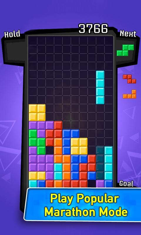 retro tetris