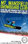 MMSC snowboard poster