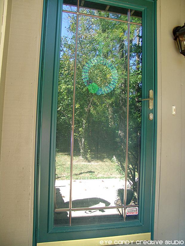 before shot of front door, modern masters front door paint, condo front door