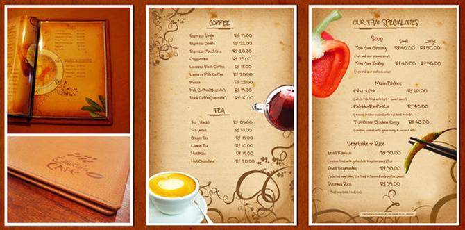 Как в фотошопе сделать меню для кафе самому