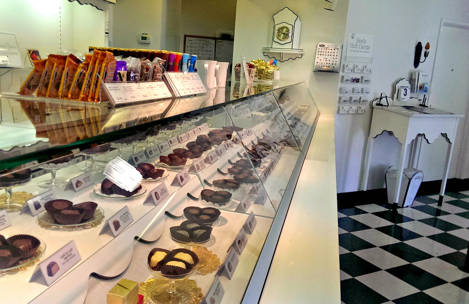 See's candies and chocolate