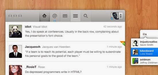 Twitter App Concept