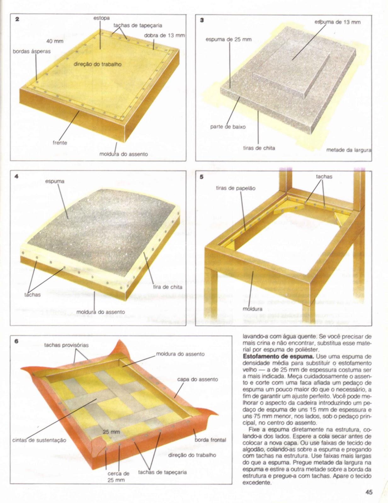 Mundo da Luci: Como Reformar Estofamento de Cadeiras Passo a Passo #A88924 1232x1600