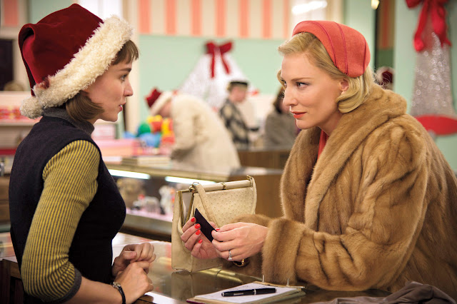 "Rooney Mara and Cate Blanchett star in Todd Haynes's ""Carol"""