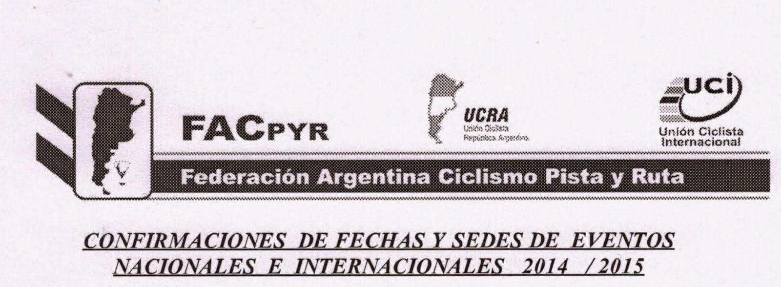 Calendario Nacional - Internacional