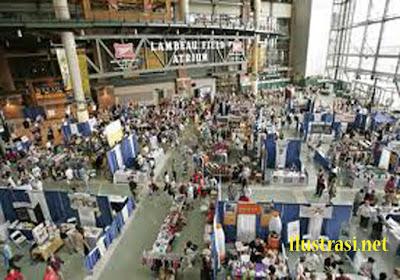 Tiap Malam Warga Padati Expo Kotabaru