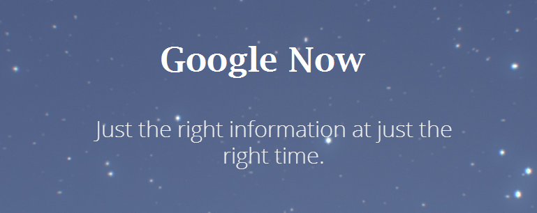 google now intro image