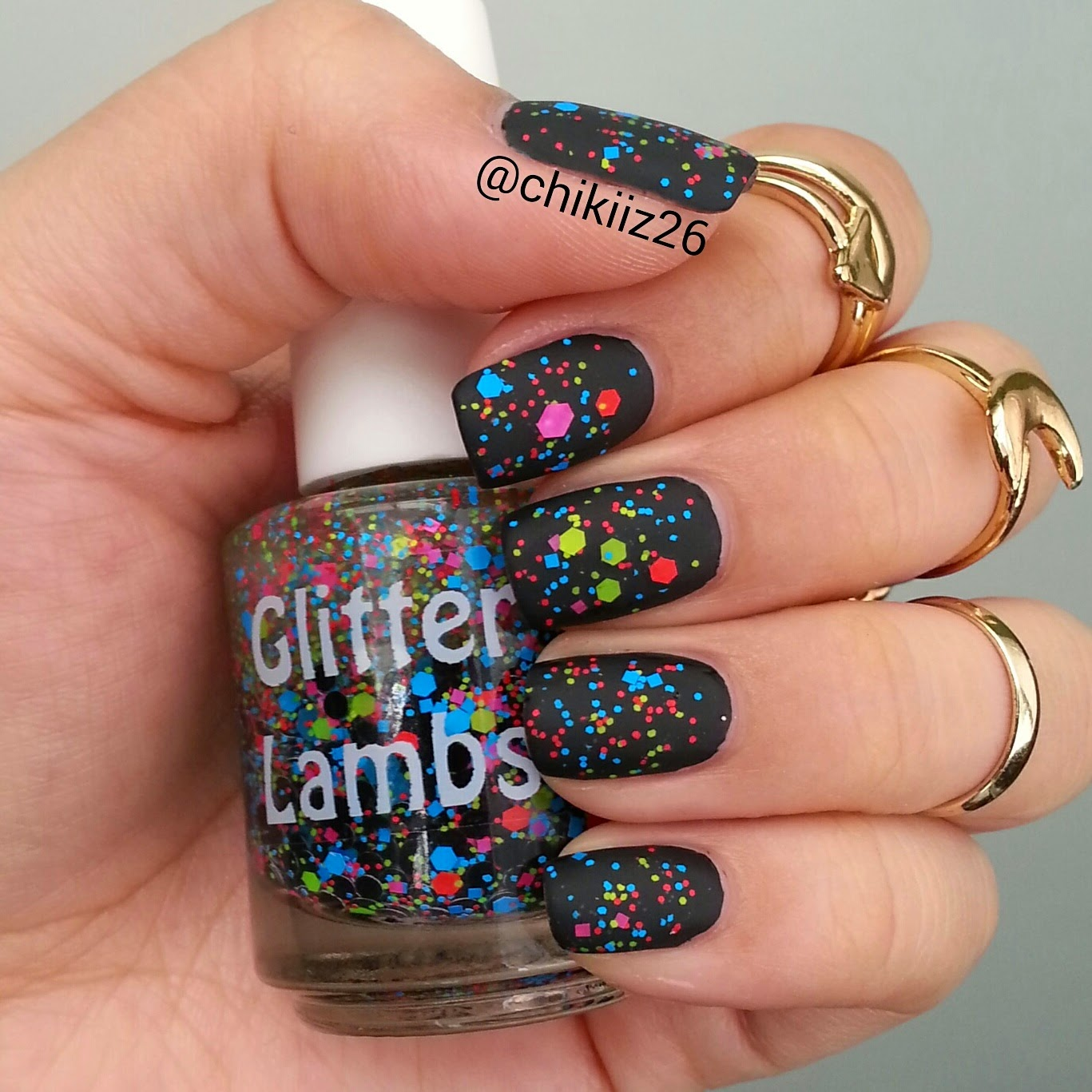 Gumball Land Glitter Lambs Nail Polish  Worn by @Chikiiz26