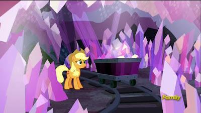 Applejack in the mine