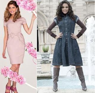 fotos de modelos de vestidos evangélicos