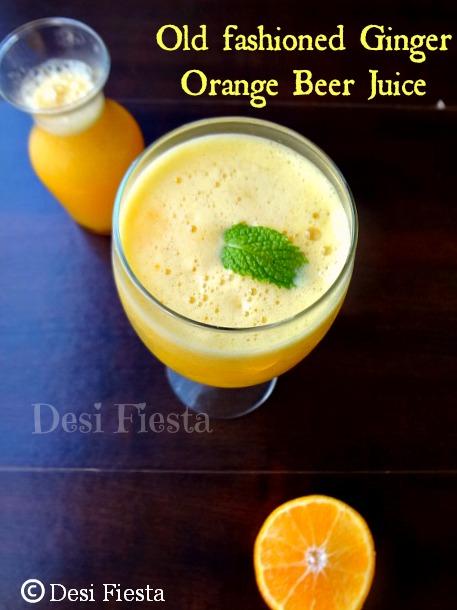 ginger orange beer