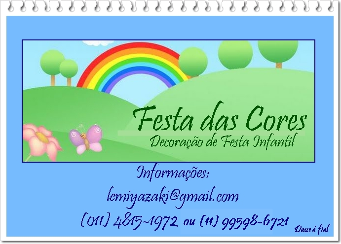 """Festa das Cores"""