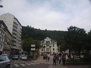 Ayuntamiento de Luarca. City Hall of Luarca.
