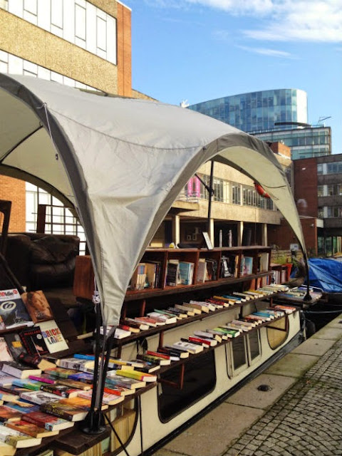 A Floating Book Shop in London