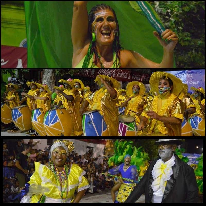 Carnaval. Desfile de Llamadas. La Jacinta.