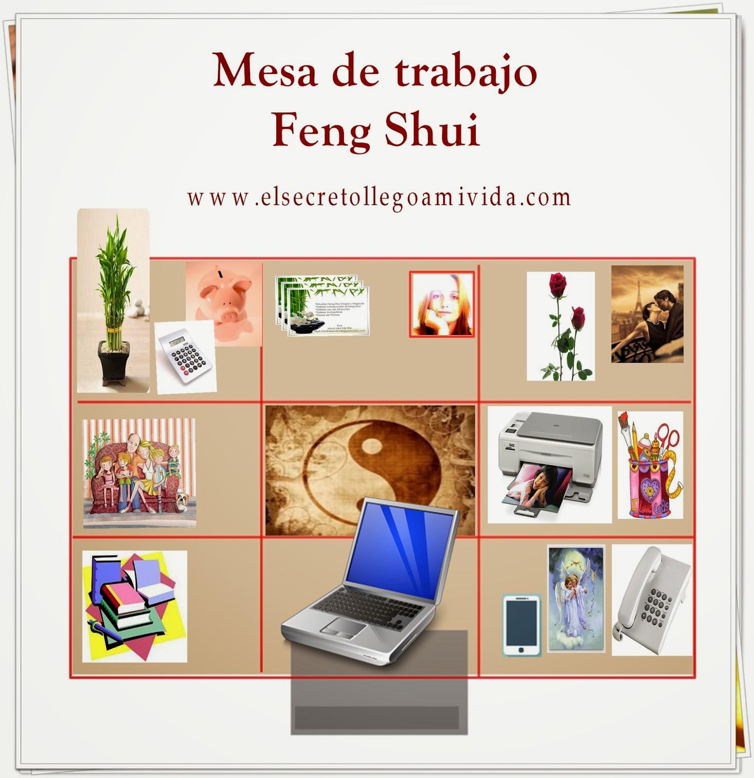 Mesa de trabajo con feng shui for Como poner los muebles segun el feng shui