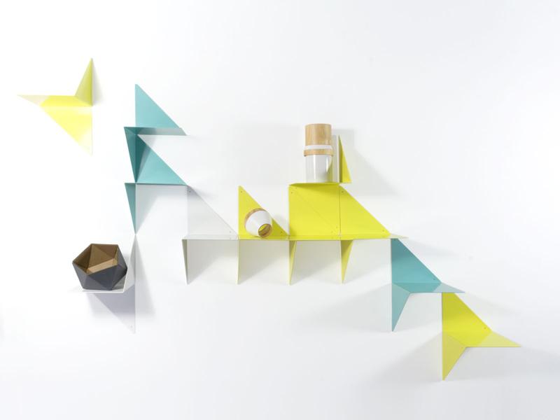 3d modulaire plankjes van adonde - Modulaire muur ...