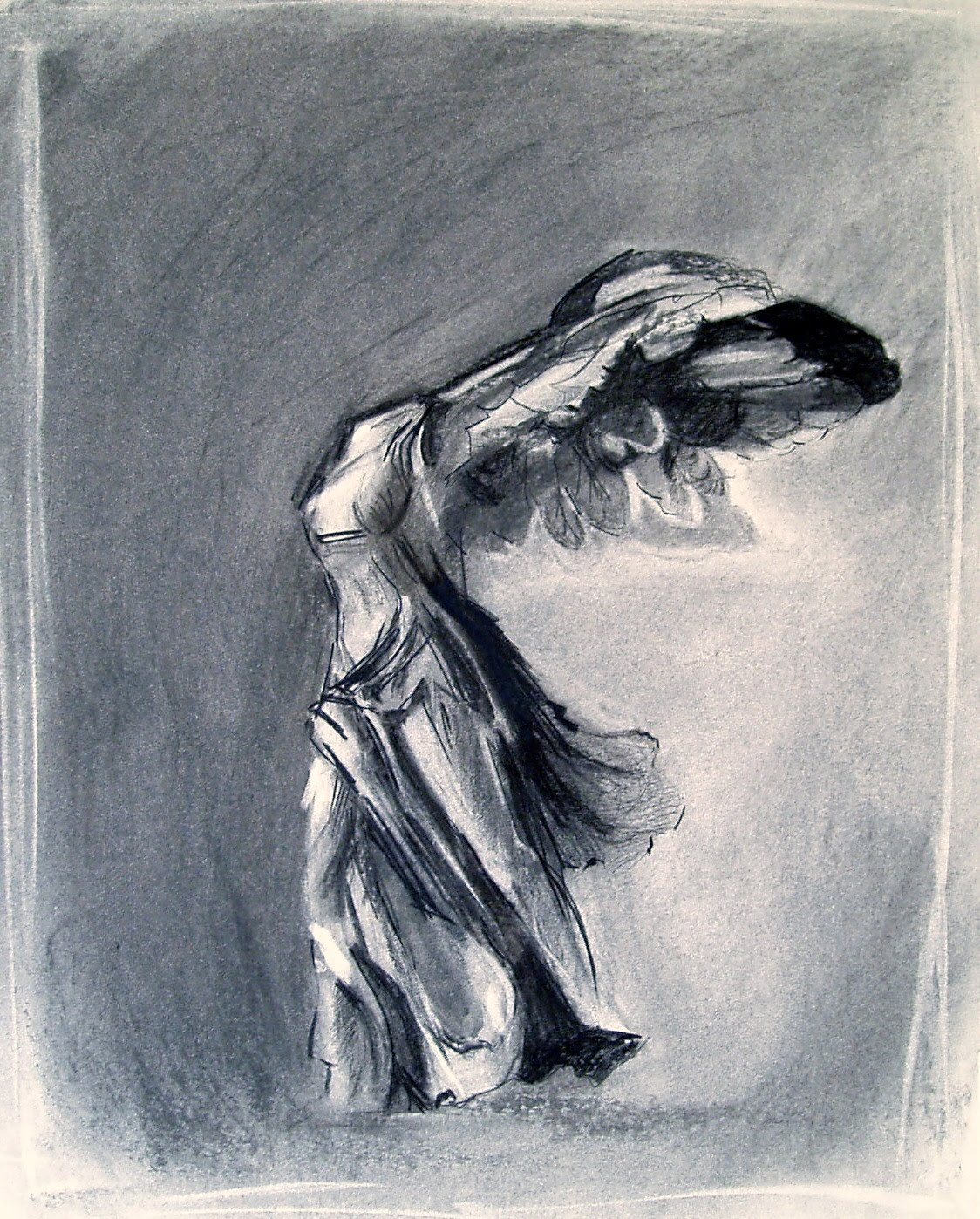 ANNE C M CAMPBELL ART March 2011 1124x1398 · Nike Of Samothrace By  Creativehouse On DeviantArt 682x909