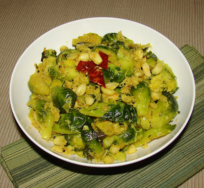 Kitchen Corner-Try It: Stir Fried Brussels Sprouts with ...