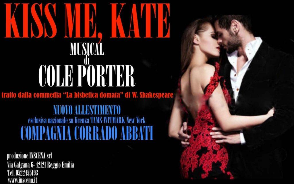 """""""KISS ME KATE"""" regia di Corrado Abbati"""