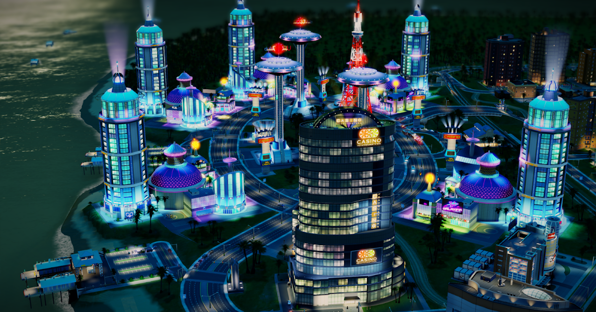 sim city casino guide