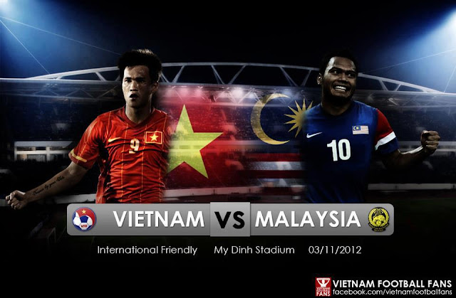 Live Streaming Vietnam vs Malaysia 3 November 2012
