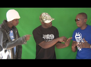 Green Screen shots of Kenyan Science, Black Venom.
