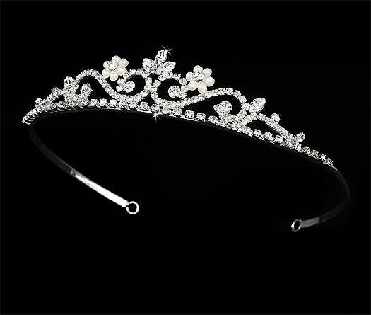 Jewelry Wiki Collection of pearl wedding crown