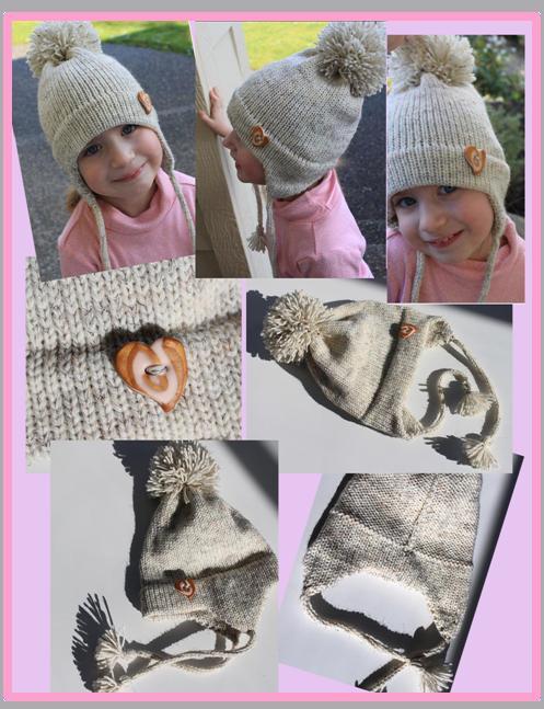 Marzipanknits Machine Knit Earflap Hat Success