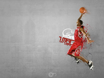 T Mac Slam Dunk - Basketball Sport Wallpapers