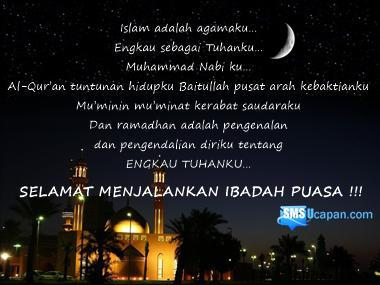 Kumpulan Puisi Indah Bulan Puasa Ramadhan