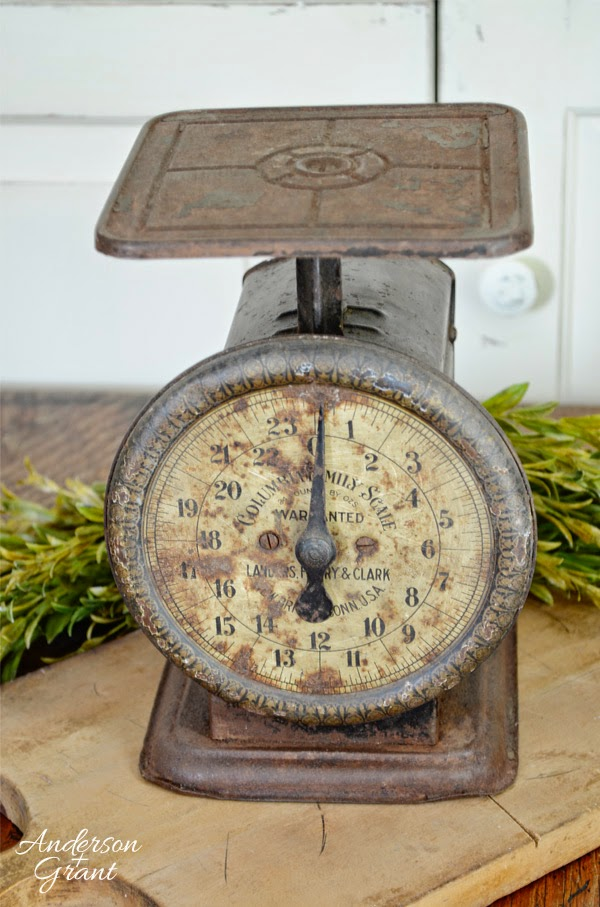 Vintage Kitchen Scale from Anderson and Grant on Storenvy $25.00