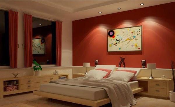 warna cat tembok kamar minimalis