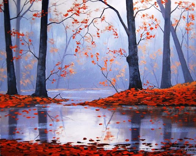 Graham Gercken landscape paintings