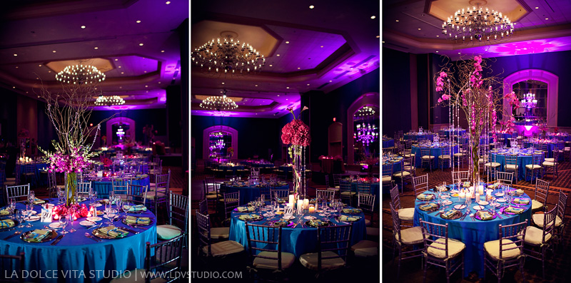 Ideias para casamento e festa Decoração casamento azul e rosa
