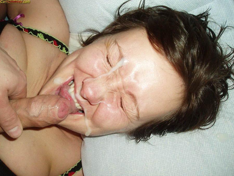 Фото жен в сперме