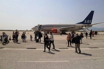 Η Καβάλα υποδέχθηκε τους πρώτους Σουηδούς τουρίστες