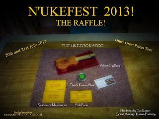 Great Aswego UkeZoo N'Ukefest prize
