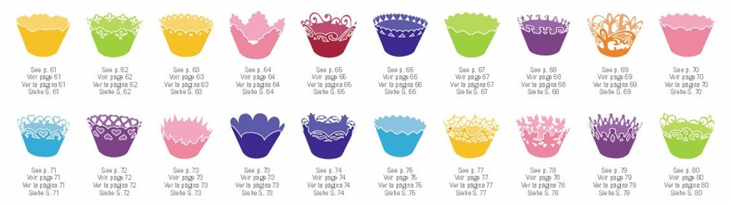 Cricut Cupcake Wrapper Size