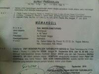 Ny. Masda Simatupang Tidak Dapat Hadir, Pada Surat Panggilan Ke II dikarenakan Kurang Sehat